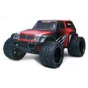 Blackzon Monster Truck 1:12 4WD 2,4GHz Rød