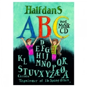 Halfdans ABC med cd