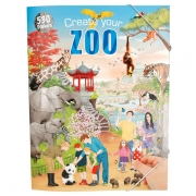 Create your Zoo Aktivitetsbog med stickers