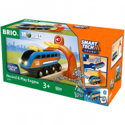 BRIO Record and Play Lokomotiv Smart Tech