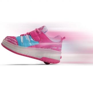 d087c433 nok Rullesko størrelse 36 i pink og lys i hælen. California GY33