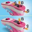 af236924f51 California Rullesko i pink størrelse 30. Tryk hjulet frem og sus ...