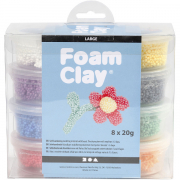 Foam Clay Large 8 x 20 gram