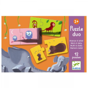 Djeco Puzzle duo mor og barn puslespil