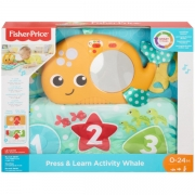 Fisher Price Press and Learn Activity Whale