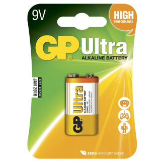 GP Ultra 9V batteri - 6LF22