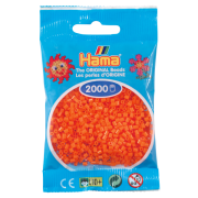 Hama mini perler 2000 stk orange