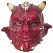 Maske Latex Devil