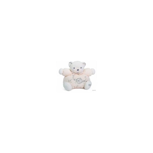 Kaloo Perle Fyldig Bamse, cremehvid - 18 cm. Babylegetøj
