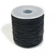 Elastiksnor 1,2mm x 100m sort