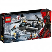 LEGO Super Heroes 76162 Black Widows helikopterjagt