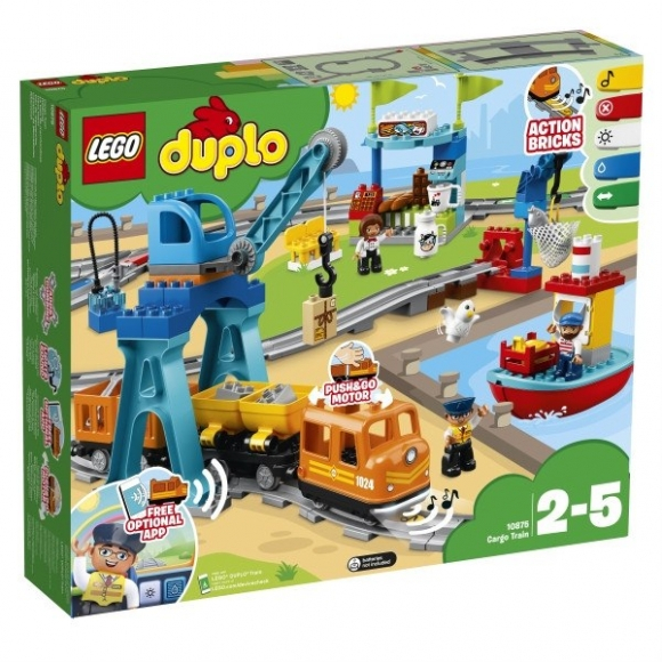Lego Förvaring Huvud Stort ~ Lego duplo 10875 stort godstogssæt med masser fede funktioner og features lige nu til en skarp