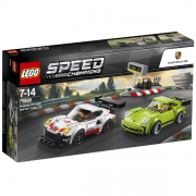 Lego Speed Champions 75888 Porsche 911 RSR og 911 Turbo 3.0