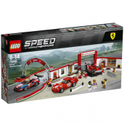 Lego Speed Champions 75889 Ultimativt Ferrari Værksted