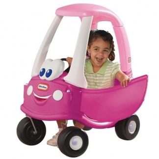 Kendte Little Tikes Coupe Rosy gåbil - kan bruges både ude og inde WL-19