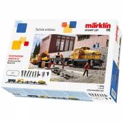 Märklin 29184 H0 Startsæt - Construction Site