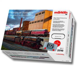 be1fbc61783 Märklin 29740 Mega startsæt - 2 togsæt, 184 cm. dobbelt sporet oval bane