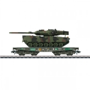 Märklin 48748 sværtransport med Leopard 2A6