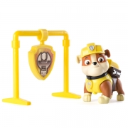 Paw Patrol Rubble Pull Back Action Hvalp