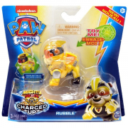 Paw Patrol Mighty Hero Pup Charged Up Rubble