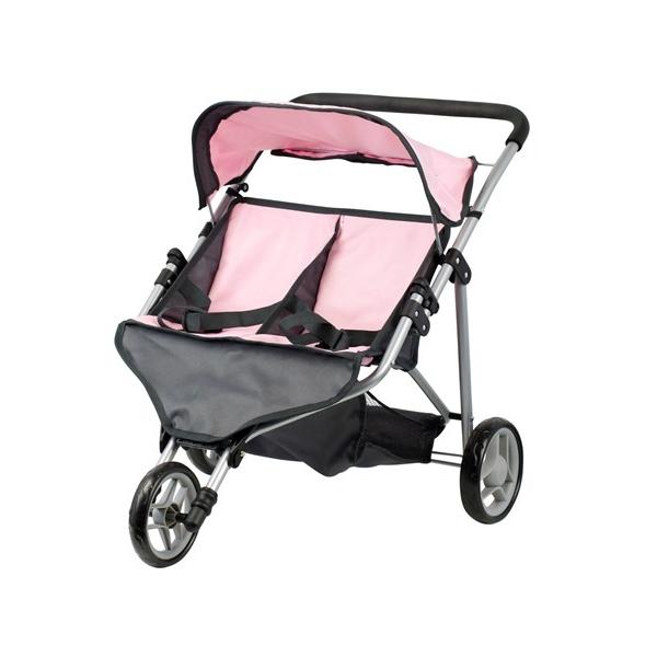 Elskede Mini Mommy - Tvillinge klapvogn til dukker EG21