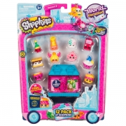 Shopkins S8 World  Vacation America 12 stk pakke