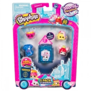 Shopkins S8 World  Vacation America 5 stk pakke