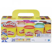 Play Doh Modellervoks Super Color Pack med 20 Dåser