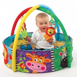 Ultramoderne Playgro Legerede med bolde og legetøj - aktiviteter til baby og QC-78