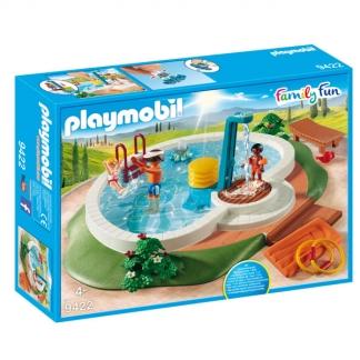 Tidsmæssigt Dejlig Playmobil summer fun pool der kan bruges med rigtigt vand OT-61