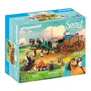 Playmobil 9477 Luckys Far og Vogn
