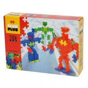 Plus Plus Mini Neon Robots 170 stk.
