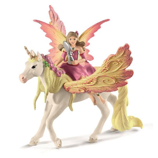Schleich Bayala 70568 Feya Med Pegasus Enhj 248 Rning