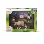 Schleich 42270 Hesteplejesæt, Andalusian