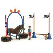 Schleich 42482 Pony med Agility Bane