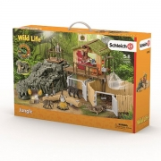 Schleich 42350 Jungle Forskningsstation Croco