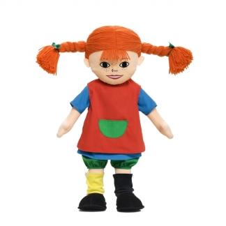 Stor Pippi dukke til børn. 60 cm høj og kan vaskes.
