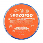 Snazaroo sminkefarve 18ml Orange