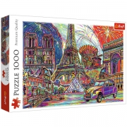 TREFL 1000 Brikker Colors of Paris