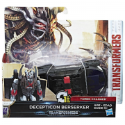 Transformers The Last Knight 1-Step Turbo Changer Decepticon Berserker C2823