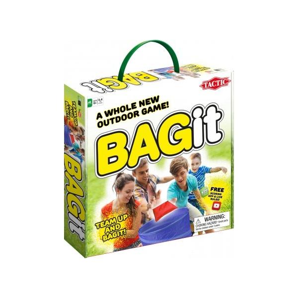BAGit Udendørs spil - udespil. Et aktivt spil der sætter jer igang
