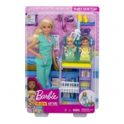 Barbie Baby Doktor Legesæt